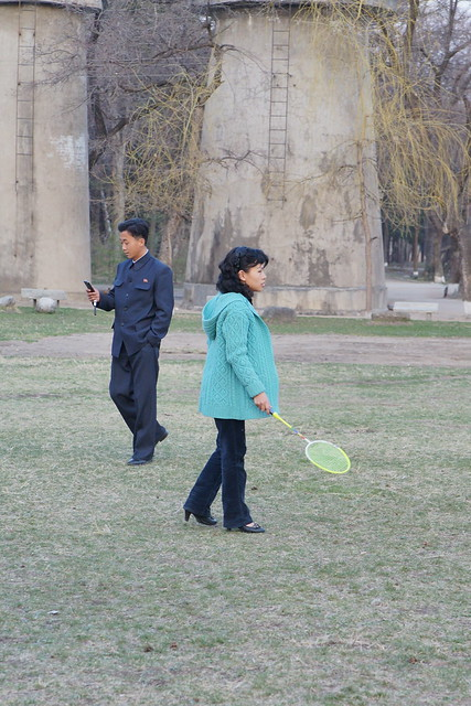 North Korean Badminton