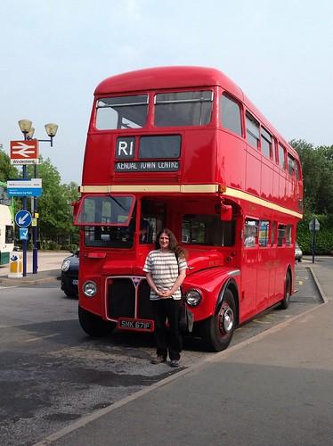 Alasdair le bus Routemaster