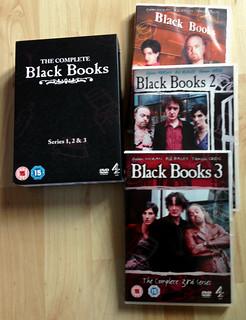 Photo of the Black Books DVD box set