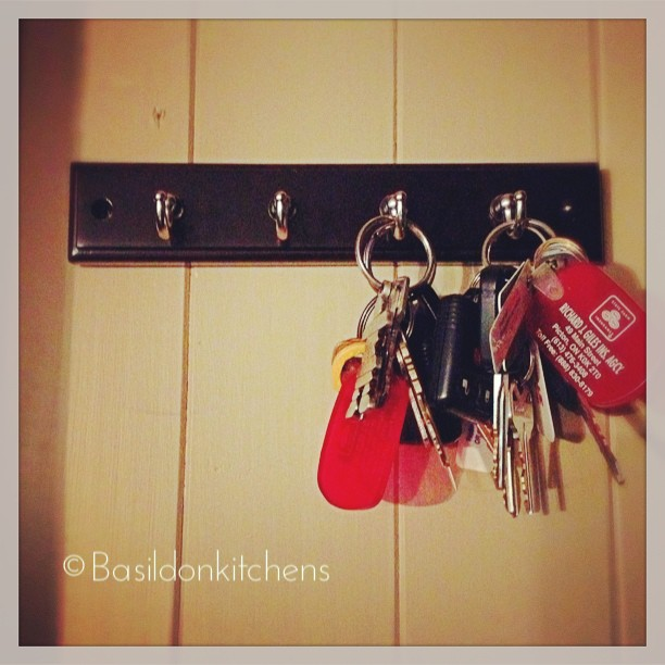 Aug 19 - lost {if the keys are not on their hook, they must be lost} Fortunately they were quickly found  #fmsphotoaday #lost #keys