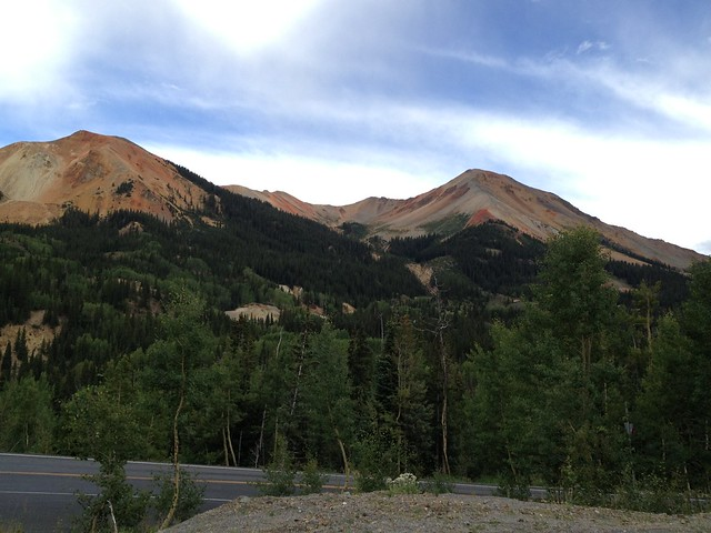 Picture from the Million Dollar Highway