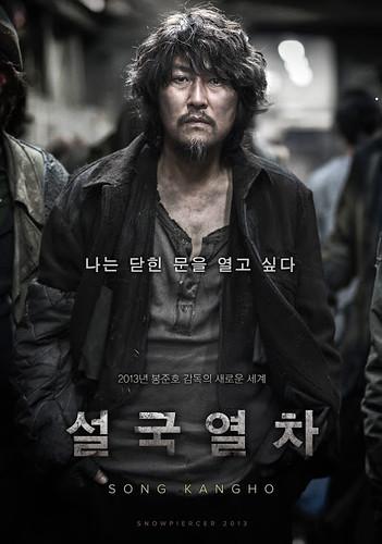 Snowpiercer Song Kang Ho poster