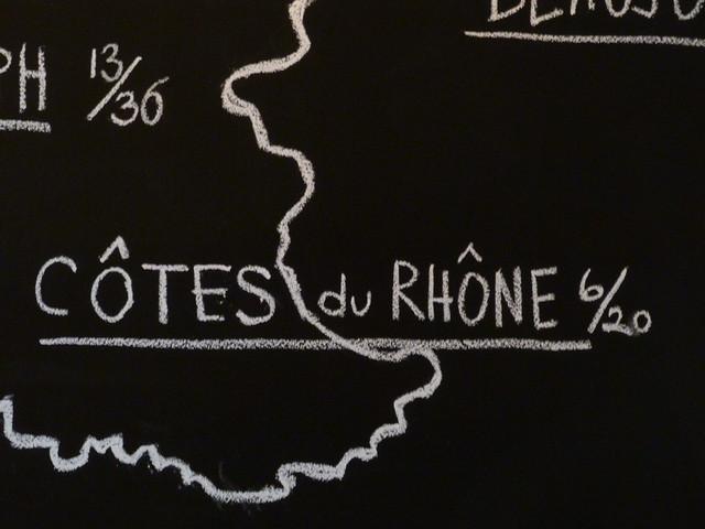 Buvette Gastrotheque - Cotes du Rhone