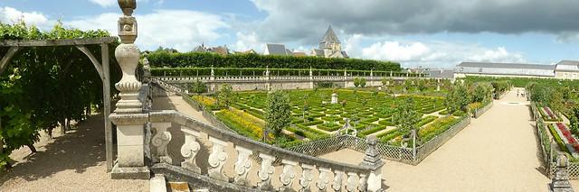 Château de Villandry kitchen gardens