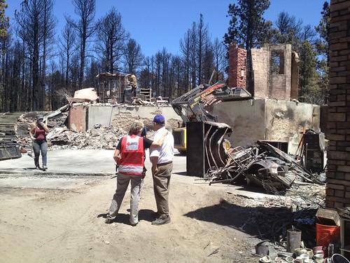 Red Cross Disaster Mental Health Volunteers in Black Forest Fire