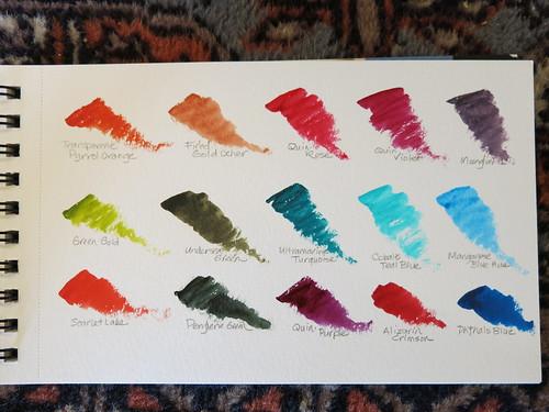 Vibrant Watercolors from Daniel Smith