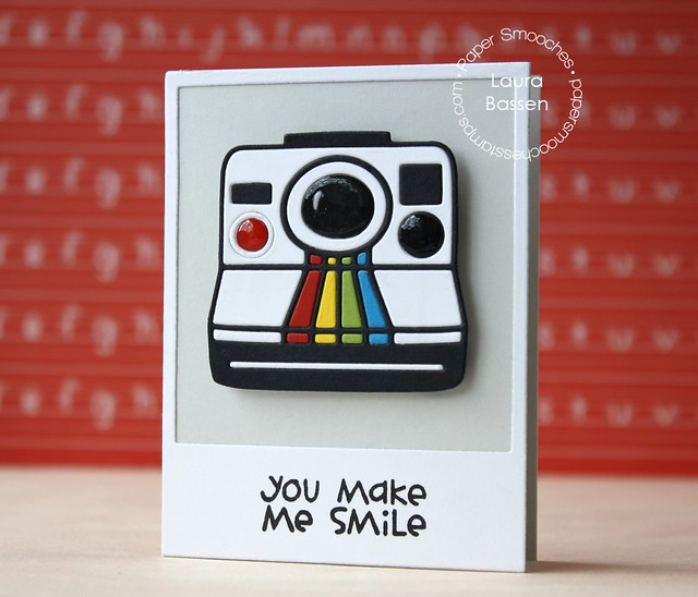 Paper Smooches~Polaroid die, We Totally Click