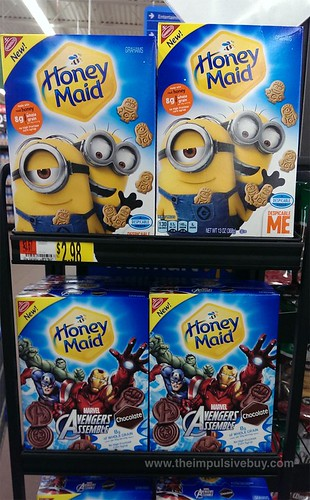 Honey Maid Despicable Me and Chocolate Avengers Assemble