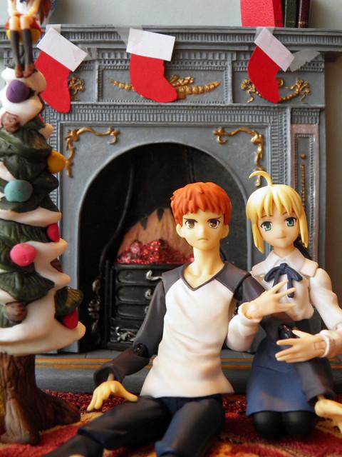 shiro saber christmas