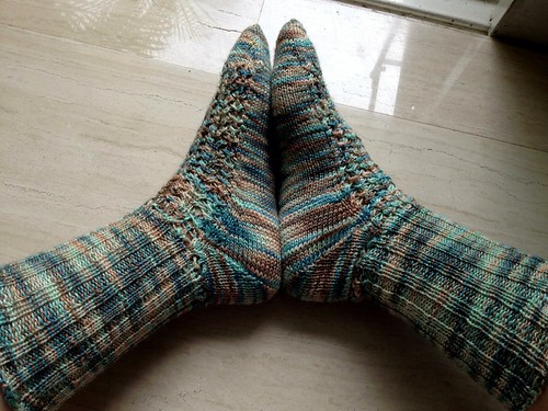 Impressionist Socks