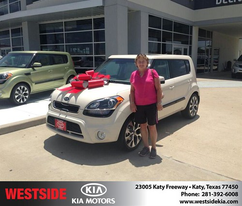 Thank you to Sharon Propes on the 2013 Kia Soul from Gil Guzman and everyone at Westside Kia! by Westside KIA