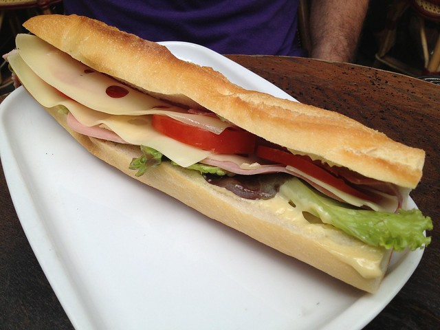 Sandwich mixte - La Cooperative
