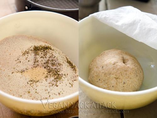 Homemade Vegan Pizza Dough