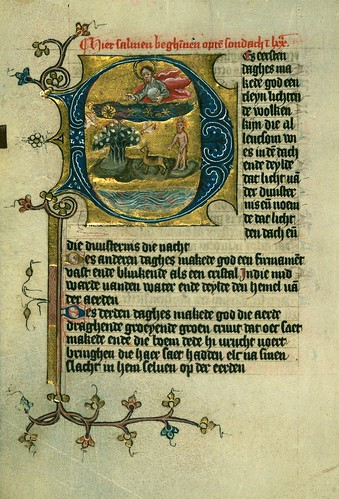 023-Fol 5v-W.171, DUKE ALBRECHT'S TABLE OF CHRISTIAN FAITH (WINTER PART)-1400-The Digital Walters