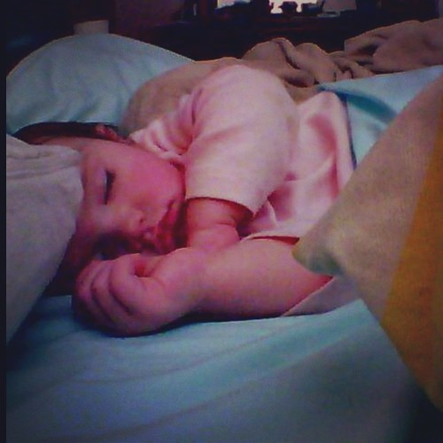 I wonder what she #dreams about #naptime