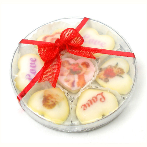 Valentine Cookies Doll's House Miniature Food Handmade