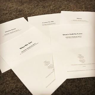 Music scores. #notation #copyist