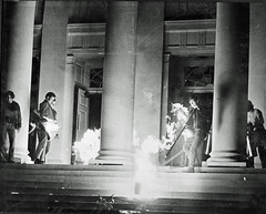 Professor Leads Group to Extinguish Fire at U of MD: May 1970