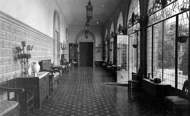 Palacio de la Sisla en 1935. Fotografía Josep Gaspar i Serra © Arxiu Nacional de Catalunya. Signatura ANC1-23-N-1564