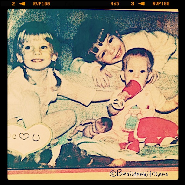 """July 19 - best feature {would be my children; my little """"mini me's""""} #photoaday #children #nostalgia #childhood #love"""