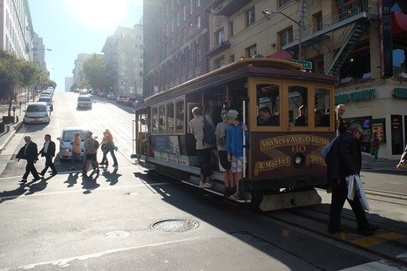 San Francisco Van Ness cable car