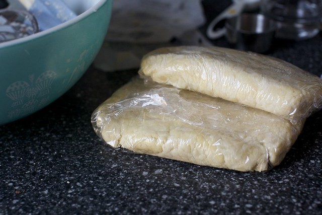 two chilled all-butter really flaky crusts