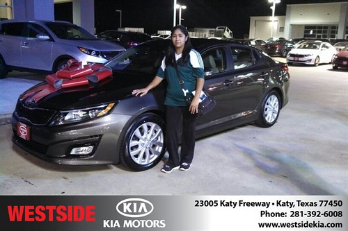 Westside KIA Houston Texas Customer Reviews and Testimonials-Alejandro Urvua-Arcos by Westside KIA