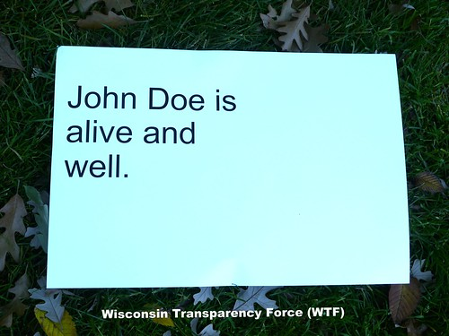 John Doe is alive and well.
