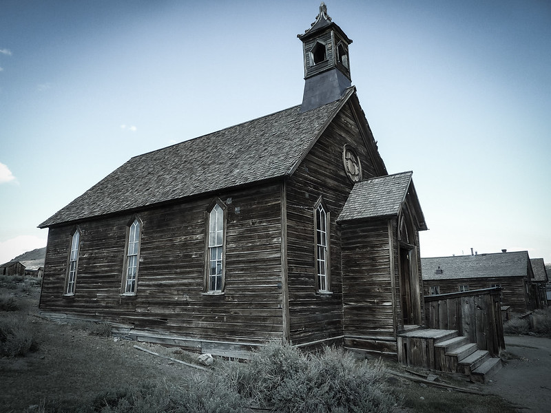 Church, Bodie, California