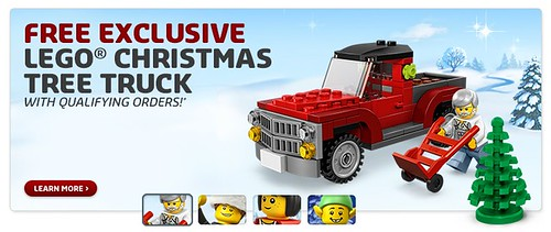 40083 Christmas Tree Truck Free Exclusive