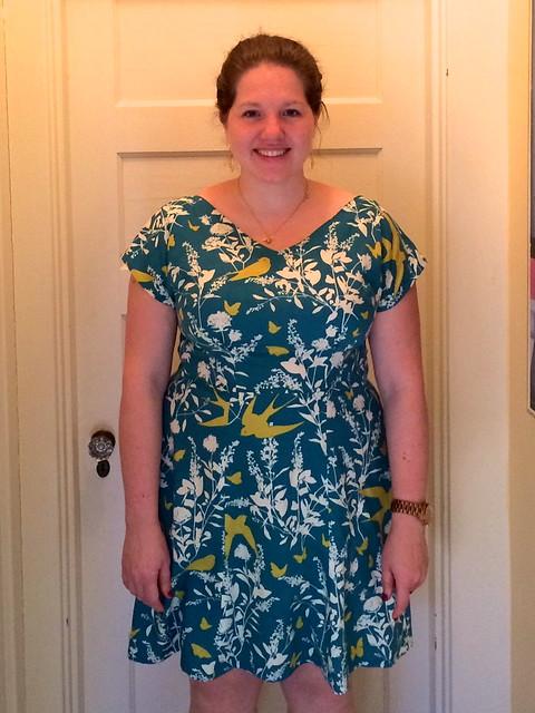 Anna dress, front