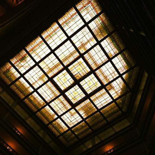 Skylight at The Brown Palace #denver by @MySoDotCom