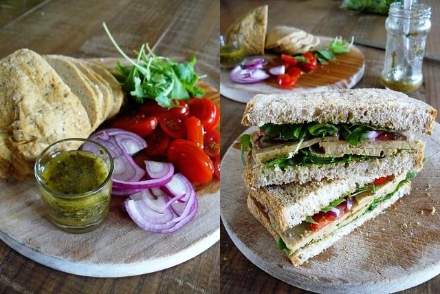 Gobbler sandwich