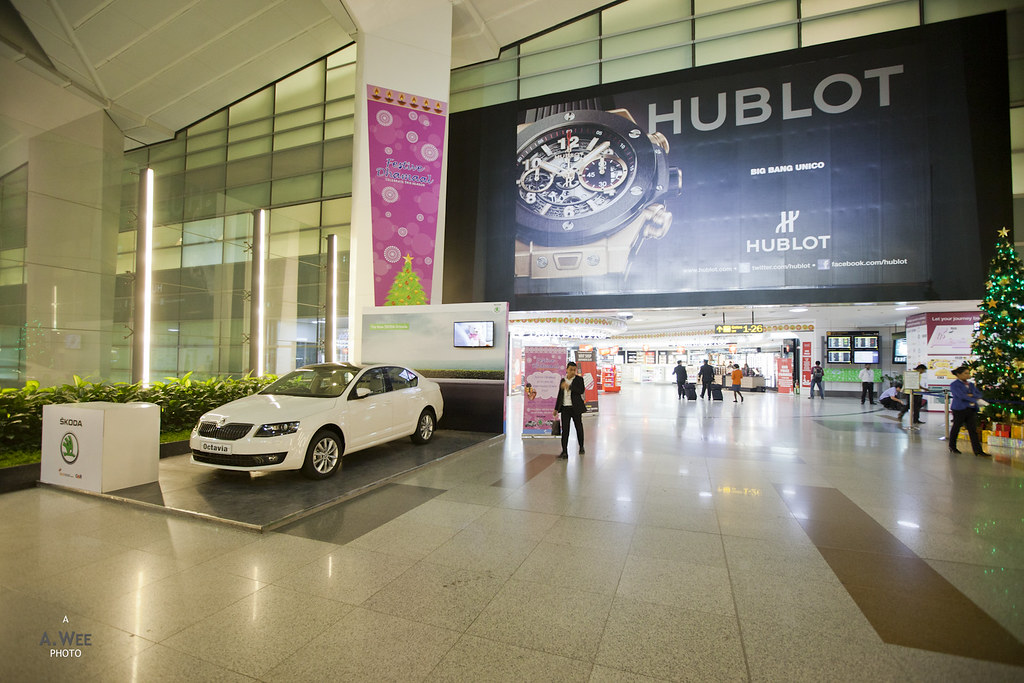 Skoda Car and Hublot Watch Advertisement