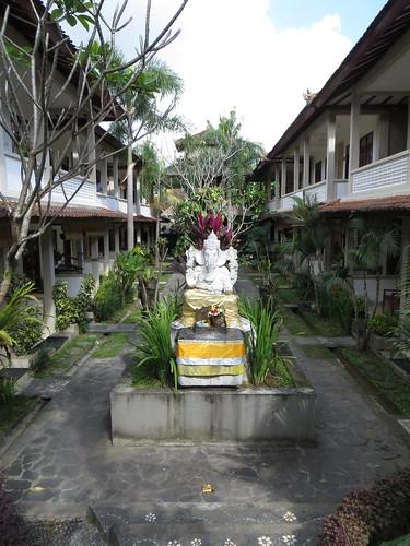 ganesha's courtyard
