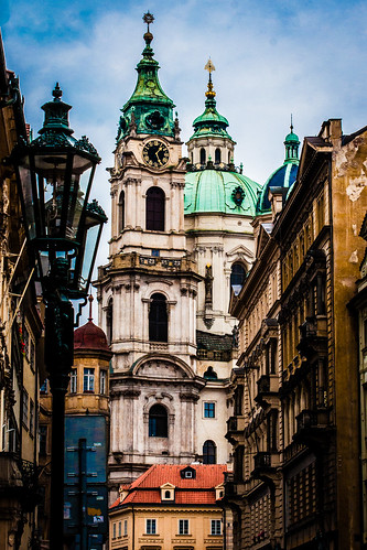 St Nicholas Cathedral. Prague