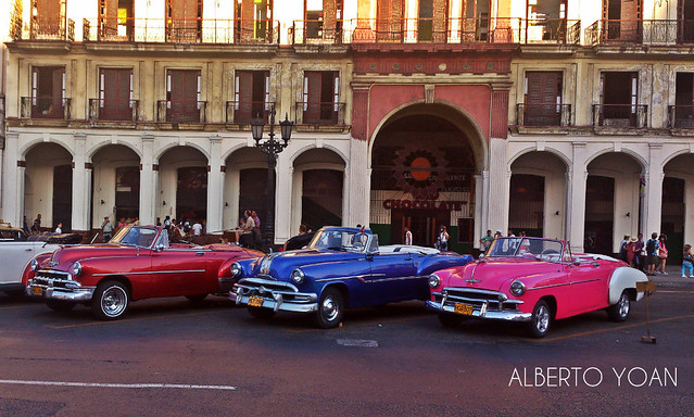 autos antiguos La Habana Cuba