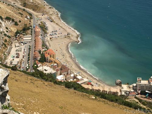 Playa de la Caleta. Gibraltar by JoseluBilbo.