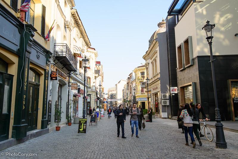 centrul vechi bucuresti, romania