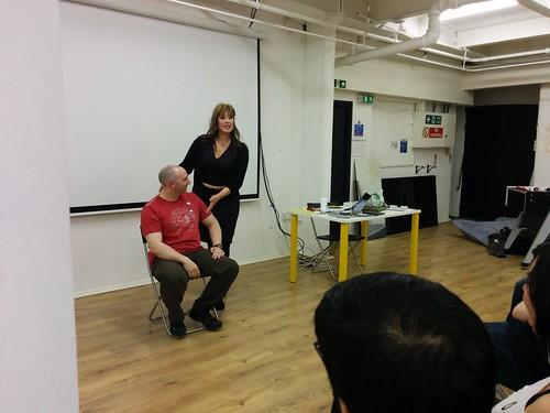 Elizabeth talks posture