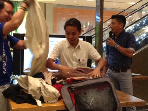 crumpler packing contest