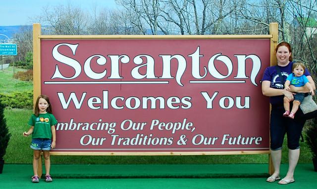 Scranton sign