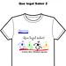 Camisa dry-fit - Silk screen - Que legal saber - bemfam