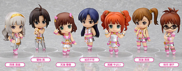 Nendoroid Petite: THE IDOLM@STER 2 Million Dreams version - Stage 01