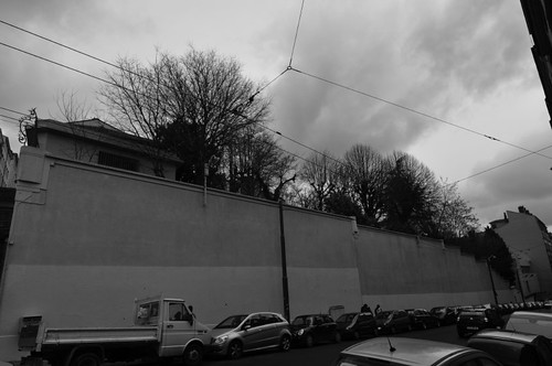 tranh tường, kiến trúc xanh