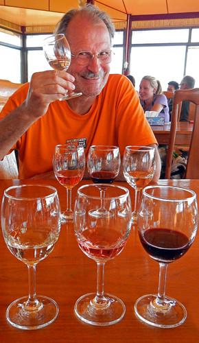 Wine Tasting at Inle Lake in Myanmar