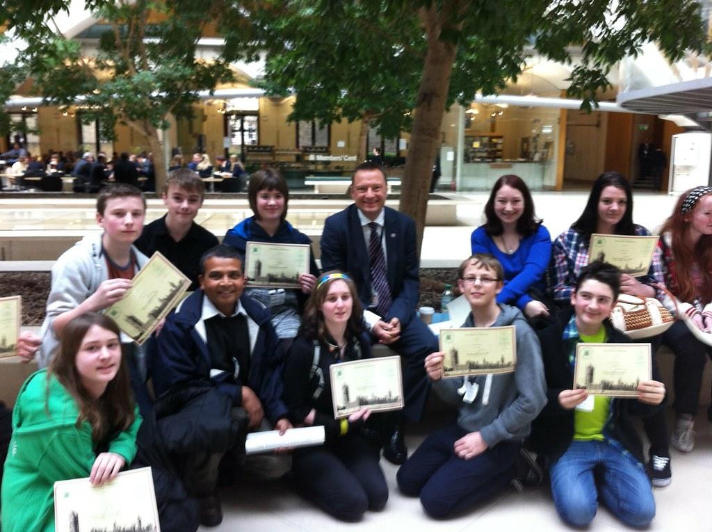 Huddersfield Youth Club in Parliament 1