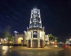 USH Universal Plaza_night