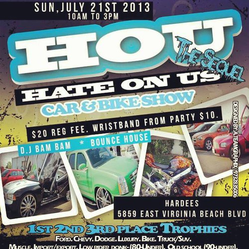 motivated by haters car show