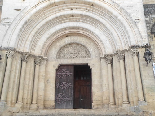 Central Portal, Abbey of St Sever